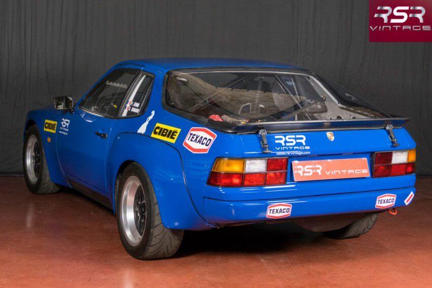 PORSCHE 924 Turbo GTS RSR Vintage véhicule ancien historique